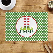 Personalised Christmas, Boy Placemats