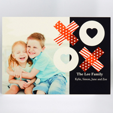 Custom Printed Share The Love Greeting Card