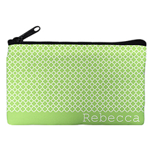 Lime Moroccan Personalised Cosmetic Bag