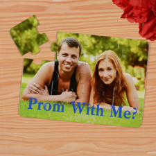 Personalised Prom With Me? Puzzle Invite