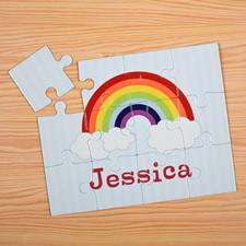 Rainbow Personalised Kids Puzzle