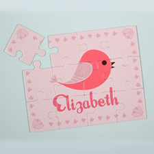 Bird Personalised Kids Puzzle