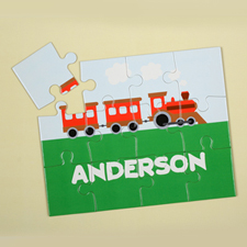 Train Personalised Kids Puzzle