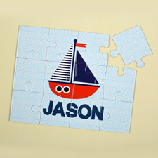 Ship Personalised Kids Puzzle