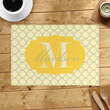 Personalised Lemon Clover Placemats