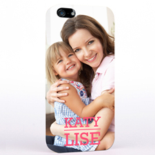 Personalised Photo And Name iPhone 5/5S Slim Case