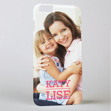 Personalised Printed Photo And Name iPhone 6+ Case Case Cover
