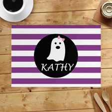 Personalised Ghost Girl Placemats