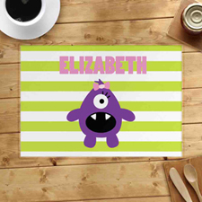 Personalised Monster Girl Placemats