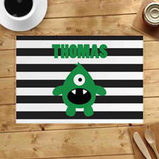 Personalised Monster Boy Placemats