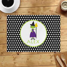 Personalised Witch Placemats