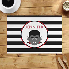 Personalised Dracula Placemats