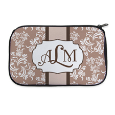 Personalised Neoprene Classic Floral Cosmetic Bag 6