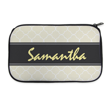 Personalised Neoprene Clovers Cosmetic Bag 6