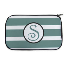 Personalised Neoprene Stripes Cosmetic Bag 6