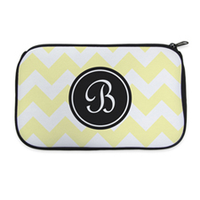 Personalised Neoprene Classic Chevron Cosmetic Bag 6