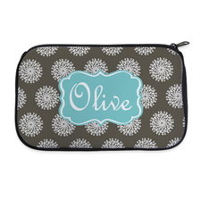 Personalised Neoprene Flower Cosmetic Bag 6