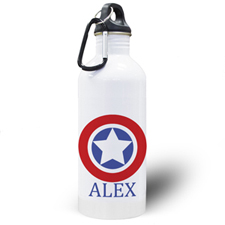 Personalised Photo Star Water Bottle