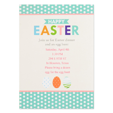 Create Your Own Easter Party Invitation Personalised Photo Card 5