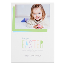 Create Your Own Happy Easter Personalised Photo Card 5