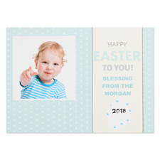 Create Your Own Happy Easter To You Personalised Photo Card 5