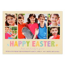 Create Your Own Easter Frame Personalised Photo Card 5