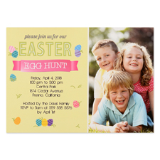Create Your Own Easter Hunt Personalised Photo Card 5