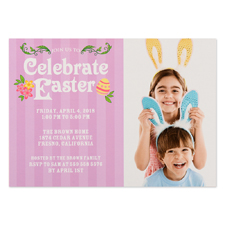 Create Your Own Celebrate Easter Personalised Photo Card 5