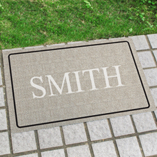 Create Your Own Initial Door Mat