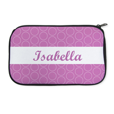 Personalised Neoprene Circle Cosmetic Bag 6
