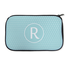 Personalised Neoprene Polka Dots Cosmetic Bag 6