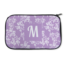 Personalised Neoprene Floral Vintage Cosmetic Bag 6