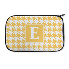 Personalised Neoprene Hounds Tooth Cosmetic Bag 6