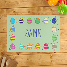 Personalised Boy's Easter Egg Placemats