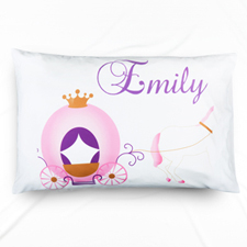 Horse Carriage Personalised Pillowcase With Name