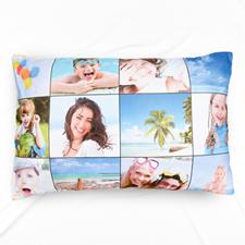 Nine Collage Personalised Photo Pillowcase