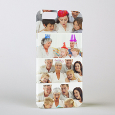 Personalised Printed White Four Collage Photo Personalised iPhone 6 + Case Case Cover