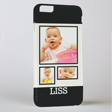 Black Frame Personalised Photo iPhone 6 + Case