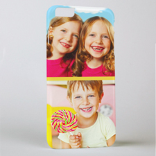 Yellow Two Collage Photo Personalised iPhone6 Case