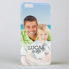 Simple Personalised Photo iPhone 6+ Case
