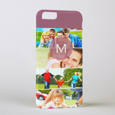 Four Collage Initial Personalised Photo iPhone 6 Case