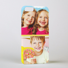 Khaki Two Collage Photo Personalised iPhone6 Case