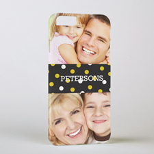 Gold Dots Personalised Photo iPhone 6 Case