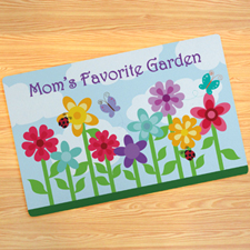 Garden Of mum Personalised Doormat