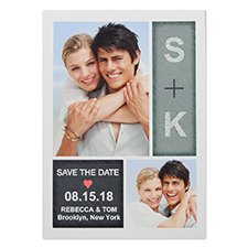 Pure Radiance Personalised Photo Save The Date Card 5