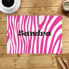 Pink Skin Personalised Placemat