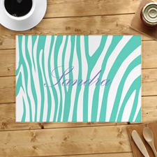 Aqua Skin Personalised Placemat