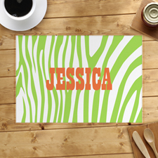 Lime Skin Personalised Placemat