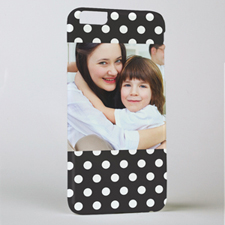 Black Dot Personalised iPhone 6+ Phone Case