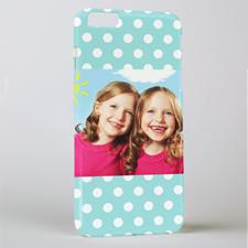 Ocean Polka Personalised iPhone 6+ Phone Case